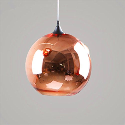 Coloured Glass Pendant Light Fittings