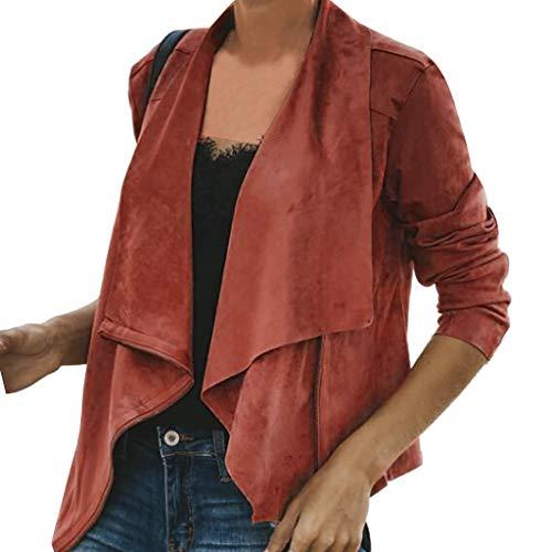Jacket Top Orange Short Streetwear Hiver Blouses À Longues Mode Casual Senoly Manteau Manches Automne Outwear Mesdames sdxtrChQ