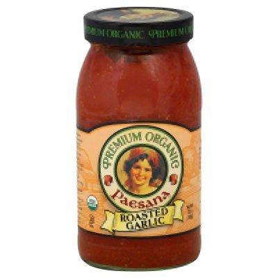 - Paesana Organic Roasted Garlic Sauce, 25 Ounce - 6 per case.