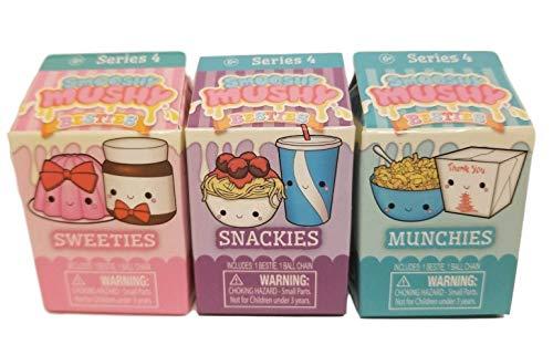 Smooshy Mushy Besties Series 4 Mystery Box Snackies Sweeties Munchies Set of 3