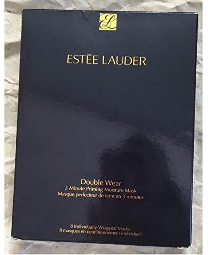 Estee Lauder Double Wear 3 Minute Priming Moisture Mask - 8 Pack