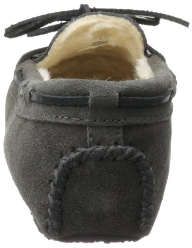 Minnetonka Damen Cally Mokassin Grau (Grey)