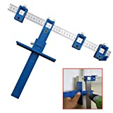 Punch Locator Drill Guide, Drill Guide Sleeve Hardware Jig Pull for Woodworking Drilling