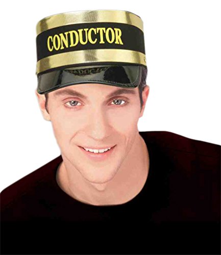 Faerynicethings Adult Size Conductor Train Hat - Costume Accessory - Polar Express ()