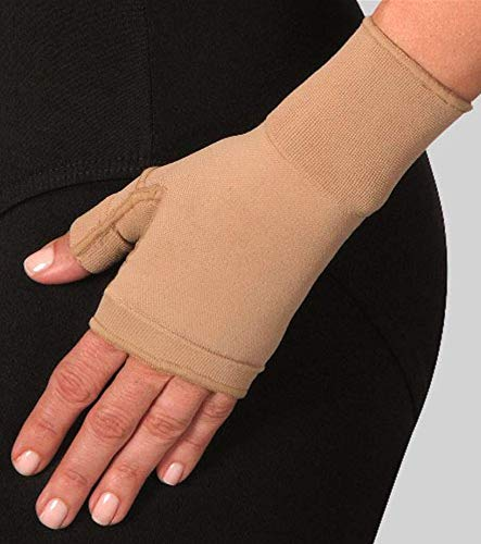 Wear Gauntlet - Bella Lite Long Ready-to-Wear Arm Sleeve, S, Gauntlet, 15-20mmHg, Lymphedema Compression Treatment