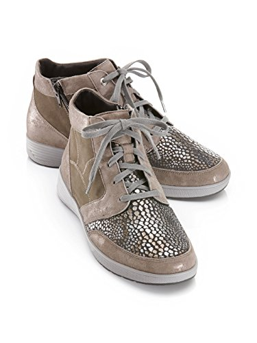 Avena Ladies Cavalletto-profilassi-pizzo-stivaletto Taupe