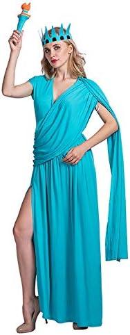 Estatua de la Libertad Vestido de 3 Piezas Conjunto de Disfraces ...