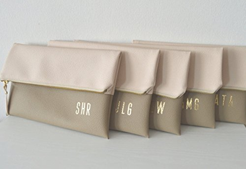 Set of 5 Personalized Clutches by navesdesign