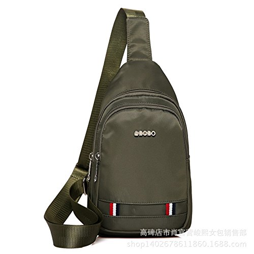 Hongrun Die Brust Pack Rucksack outdoor lineare Rampe reiten wasserdichte Reisetasche Männer und Frauen koreanische Version des Wasserkochers Kleines Paket