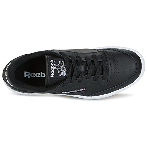gum 000 Club black Reebok C85 white Homme Basses Baskets Noir int wzZzBqvrd