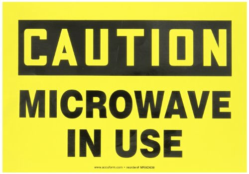 Accuform Signs MRAD639VS Adhesive Vinyl Safety Sign, Legend