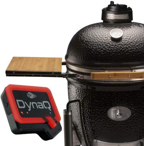 BBQ Guru Monolith Ceramic Grill with DynaQ Temperature Control – Most Hi-Tech Charcoal Grill