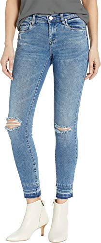 Blank NYC Women's The Reade Crop Denim Skinny in Dance Off Dance Off 26 26