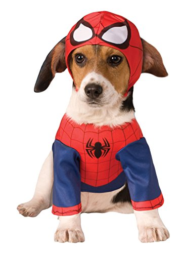 [Rubies Costume Company Marvel Classic/Marvel Universe Spider-Man Pet Costume, Large] (Pet Spiderman Costumes)