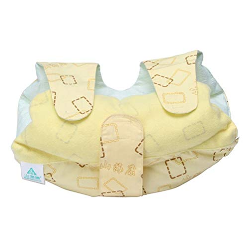 GaoFan Medical Care Adult Elbow Immobilizer Stabilizer Support Brace,Adjustable Cushioned for Adults Arm Protection Pad Brace/Splint,3020cm (Yellow) by GaoFan (Image #3)