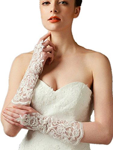 Knitting Lace Gloves - 2