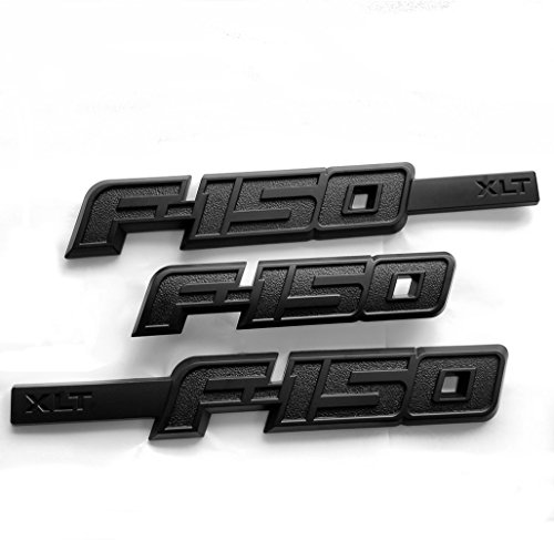 3pcs OEM F-150 Xlt Drivers Side Rear Tailgate Emblem for sale  Delivered anywhere in USA