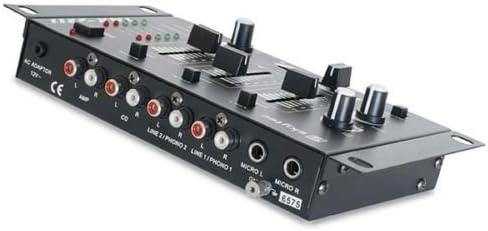 Mesa de mezclas DJ Mixer Stereo 4 canales 3 canales mono 2 canales ...