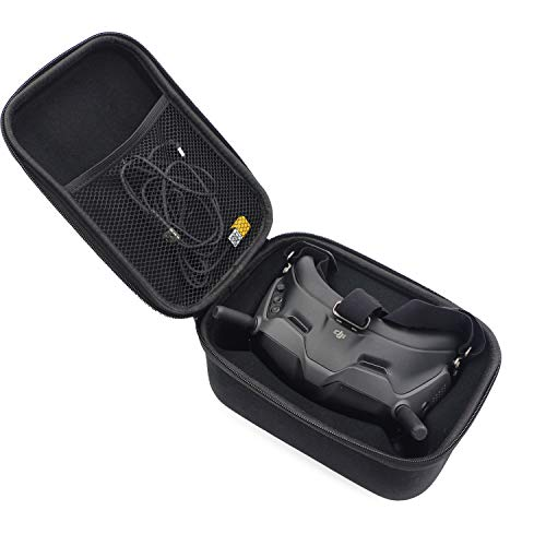 Skyreat Hard Carrying Case for DJI Digital FPV Goggles, Suitable Only for Stock FPV Goggles,Foam, Cables, Antenna and Other Accessories