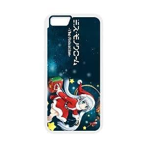 Miss.Monochrome 6 plástico iPhone funda caso 6 teléfono celular 4.7 pulgadas funda funda caja del teléfono celular blanco cubre ALILIZHIA09622