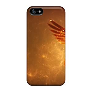 Awesome Fire Fluttershy Flip Case With Fashion Design For Iphone 5/5s