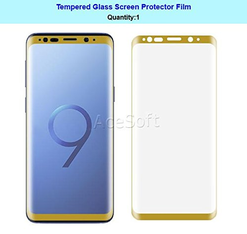 High Definition 3D Curved Wear-Resisting Shockproof Anti-Shatter Tempered Glass Screen Protector Guard Shield Saver Armor Cover For Samsung Galaxy S9 SM-G960U Android phone