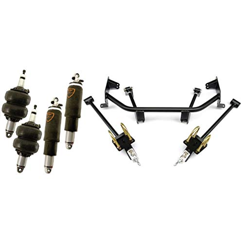 NEW RIDETECH AIR SUSPENSION SYSTEM,HQ SERIES SHOCKWAVES,BOLT-ON 4-LINK,COMPATIBLE WITH 1960-1964 FORD GALAXIE,SUNLINER & MERCURY MONTEREY,MONTCLAIR