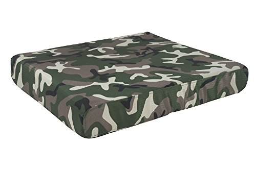 K9 Ballistics Orthopedic TUFF Bed Green Camo - XX-Large (40''x68''x5'') by K9 Ballistics