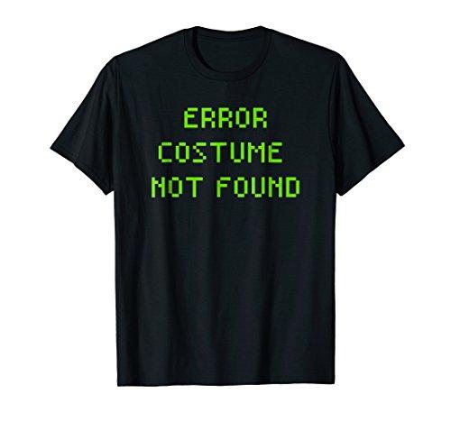 Funny Coding Computer Halloween Error Costume Shirt ()
