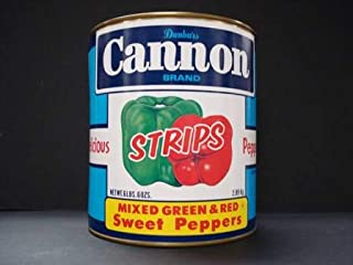 product image for Moody Dunbar Red and Green Pepper Strips - no.10 can, 6 cans per case