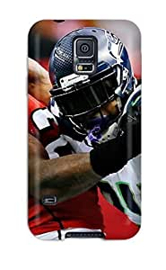 Tpu Fashionable Design Seattleeahawks Rugged Case Cover For Galaxy S5 New by mcsharks