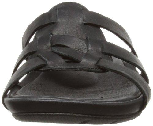 Timberland EK PLSNT BAY SLDE BL BLACK - De Plataforma de cuero mujer negro - negro