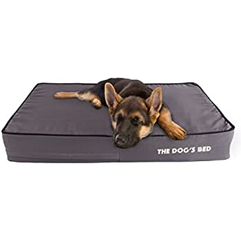 The Dogs Bed, Premium Orthopedic Memory Foam Waterproof Dog Beds, Many Colors/Sizes, Eases Pain of Arthritis & Hip Dysplasia, Therapeutic & Supportive Bed, ...