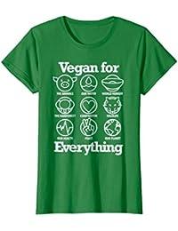 Vegan For Everything T Shirt Cool Vegan Gift Shirt
