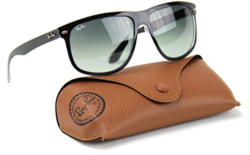 Ray-Ban RB4147 603971 Highstreet Sunglasses Black Frame / Grey Gradient Azure Lens - Sunglasses 4147 Ray Ban
