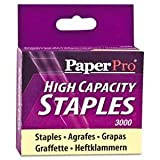 PaperPro 1962 High-Capacity Staples, 3/8'' Leg Length, 3000/Box