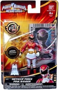 Power Rangers Megaforce Metallic Force Pink Ranger