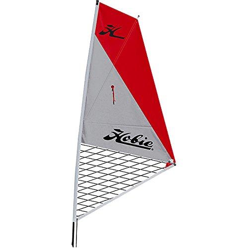 Hobie Mirage Kayak Sail Kit-Red/Silver ()