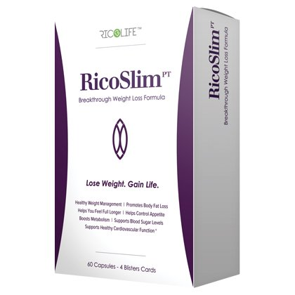 Weight Management Formula RicoLife PT 60 Capsules - 6 Pack by YNG