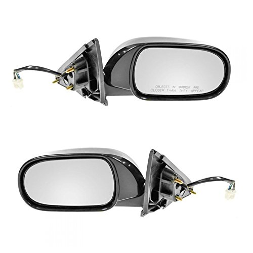 Power Heated Side View Mirrors Pair Set for 03-06 Infiniti G35 4 Door Sedan