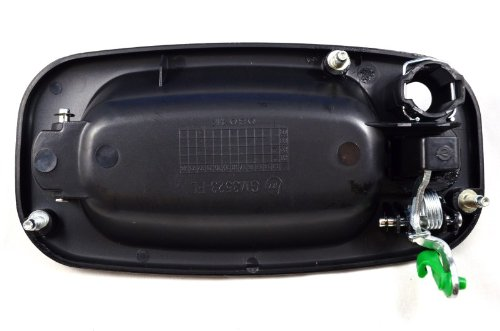 Textured Black PT Auto Warehouse GM-3523A-FL Driver Side Front Outside Exterior Outer Door Handle
