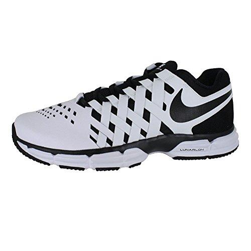 Nike Mens Lunar Fingertrap (4e) Cross Trainer Bianco Nero