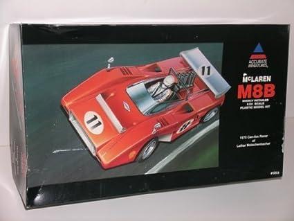 Amazon.com: McLaren M8B -- Kit de modelo de plástico: Toys ...