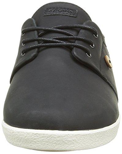 FaguoCypress23 - botas de caño bajo Hombre Noir (F1630 Black)