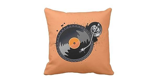 Amazon.com: Notas musicales Patrón Decoración Idea cojines ...