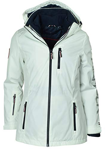 (Tommy Hilfiger 3-in-1 Systems Jacket for Women (White, X-Large))