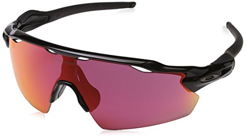(Oakley Men's Radar EV Pitch Team Colors Sunglasses,OS,Polished Black/Prizm)