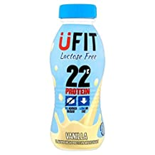 UFIT Lactose Free Vanilla Protein Shake Drink - 310ml (10.48fl oz)