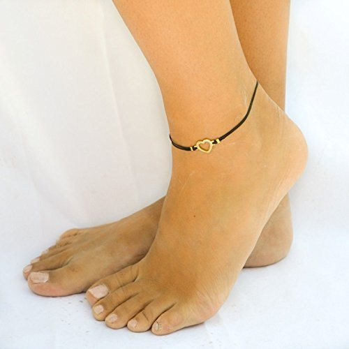 gold hoyahoya original anklet ball zibbet by brass charm dainty sterling on