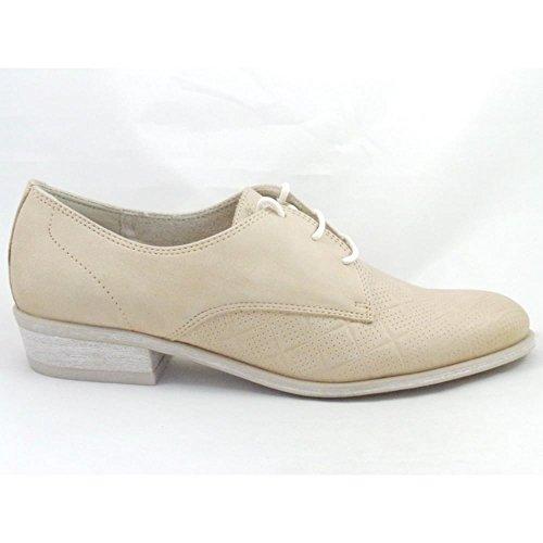 Marco Tozzi - Zapatos de cordones para mujer beige beige